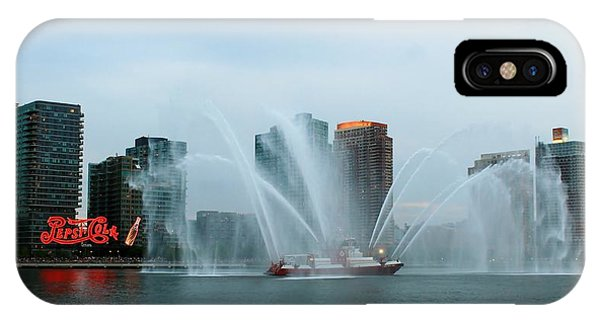 Pepsi Sign And Fdny  IPhone Case