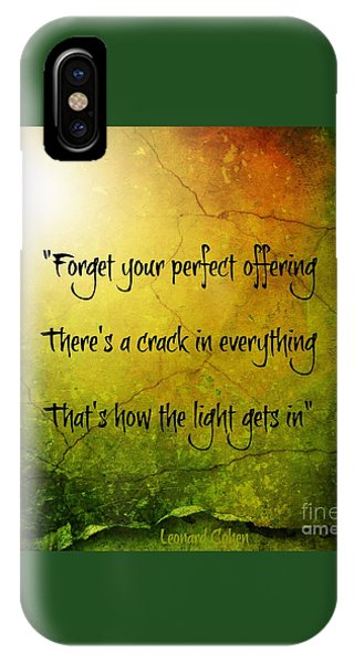 Perfect Offerings IPhone Case