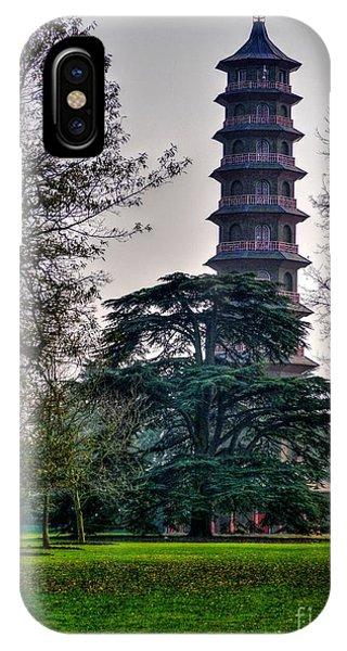 Pergoda Kew Gardens IPhone Case