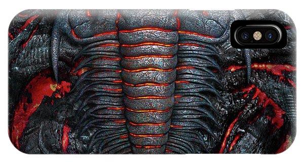 Heat iPhone Case - Permian Heat by Jerry LoFaro