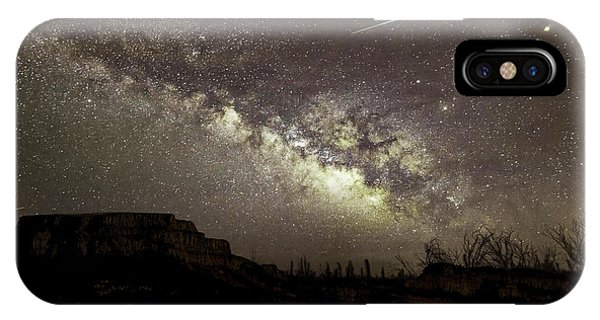 Perseids Milky Way IPhone Case