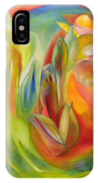 IPhone Case featuring the painting The Liberation Of Persephone by Linda Cull
