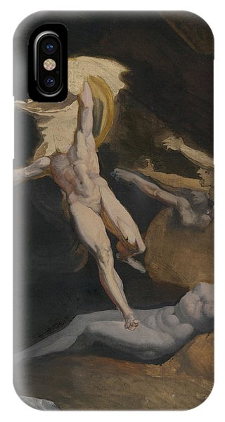 Gorgon iPhone Case - Perseus Slaying The Medusa by Henry Fuseli