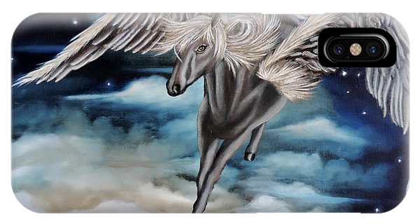 Perseus The Pegasus IPhone Case