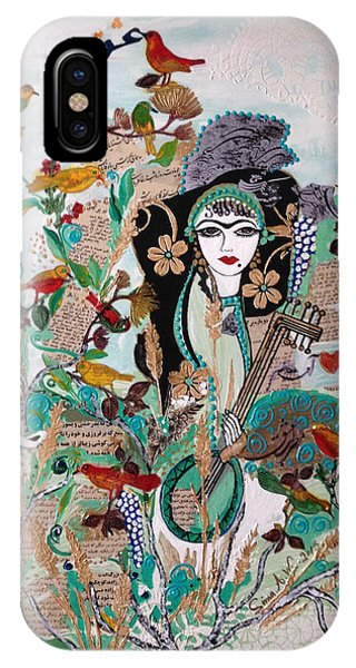 Persian Painting # 2 IPhone Case