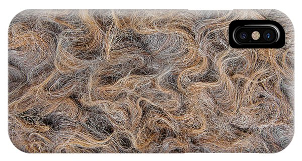 Peruvian Burro Curls IPhone Case