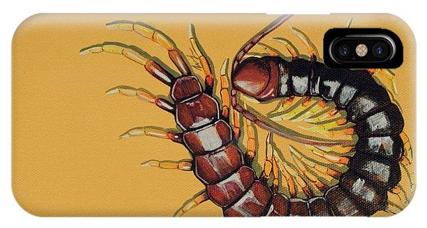 Peruvian Centipede IPhone Case