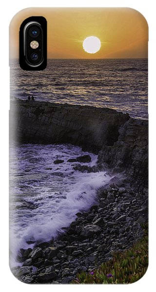 Pescadero Sunset IPhone Case