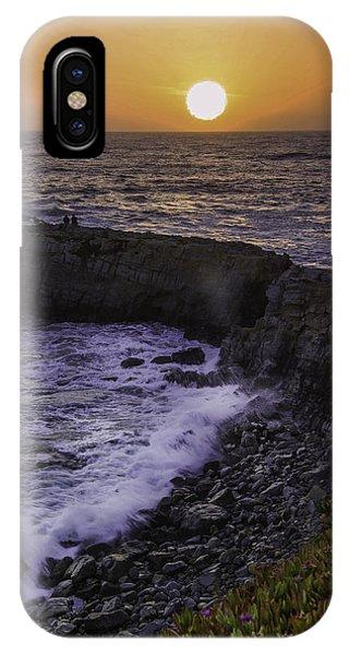 Pescadero Sunset IPhone Case