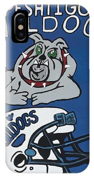 Peshtigo Bulldogs IPhone Case