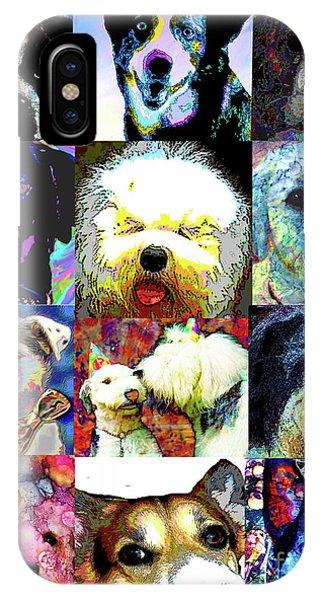 iPhone Case - Pet Portraits by Alene Sirott-Cope