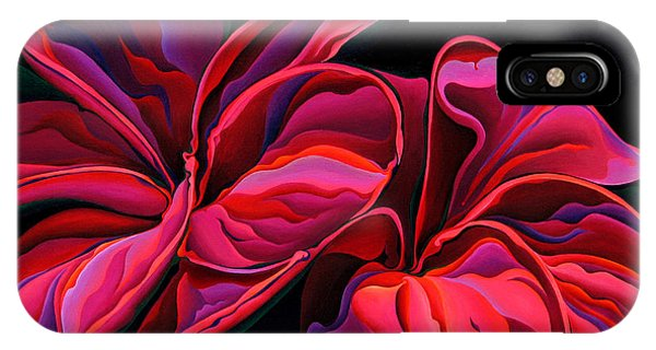 Petal Pageant  IPhone Case