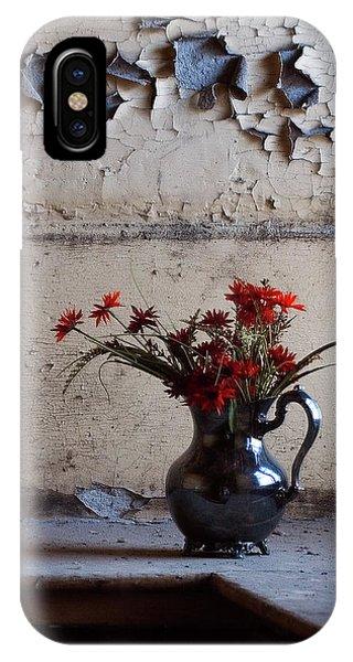 Petals And Peeling Paint - Preston Castle IPhone Case