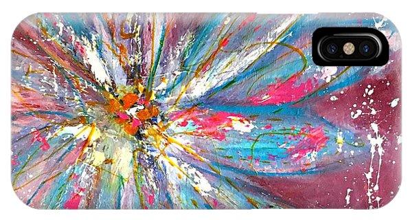 Petals Exploding IPhone Case