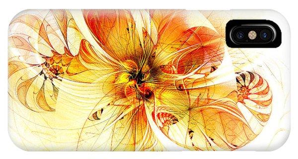 Petals Of Gold IPhone Case