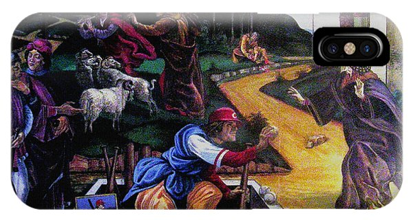 Pete Rose In The Renaissance IPhone Case