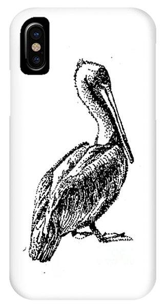 Pete The Pelican IPhone Case