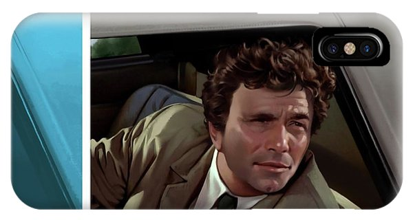 Peter Falk 1973  IPhone Case