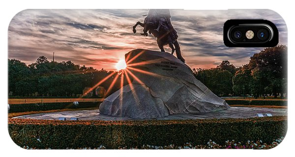 Peter Rides At Dawn IPhone Case