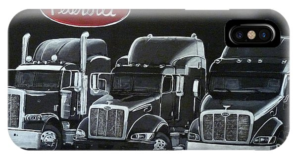 Peterbilt Trucks IPhone Case