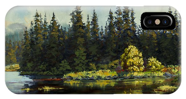 Peterson Lake IPhone Case