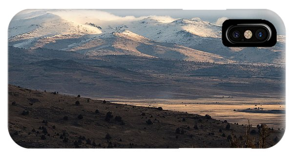 IPhone Case featuring the photograph Pete's Valley At Dawn by The Couso Collection