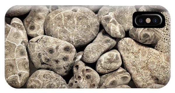 Petoskey Stones Vl IPhone Case