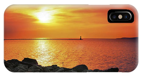 iPhone Case - Petoskey Sunset by Lee Wolf Winter