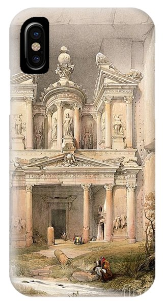 Columns iPhone Case - Petra by David Roberts