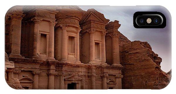 Petra's Monastery IPhone Case