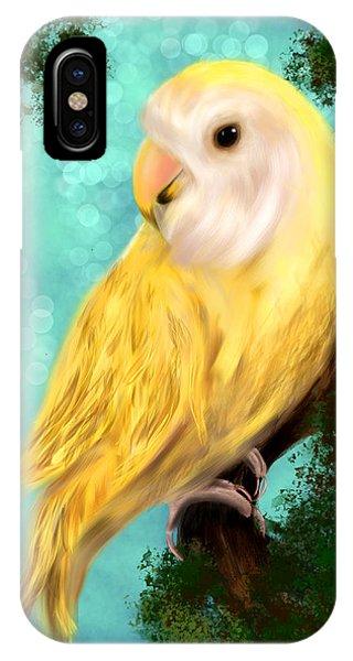 Petrie The Lovebird IPhone Case