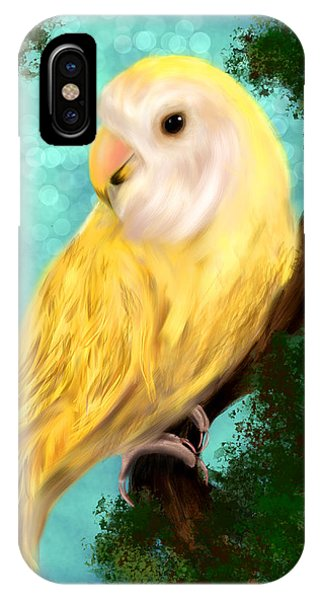 Petrie The Lovebird IPhone Case
