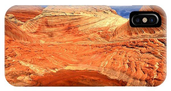 Petrified Sand Dune Reflections IPhone Case