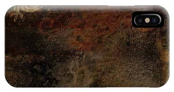 Petroglyph 6 IPhone Case
