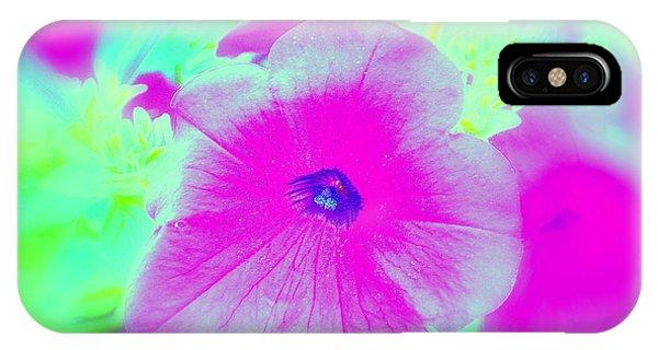 Petunia Glow E IPhone Case