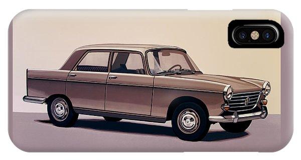 Estate iPhone Case - Peugeot 404 1960 Painting by Paul Meijering