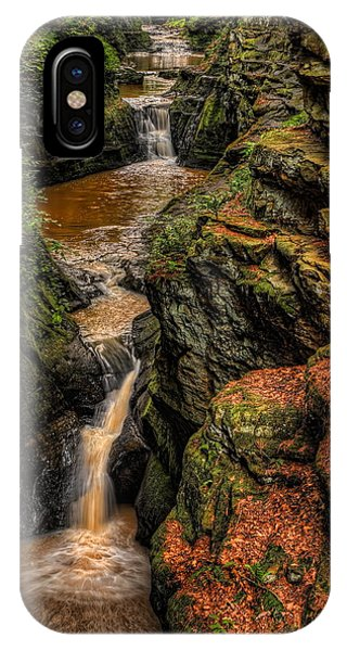 Pewits Nest Three Waterfalls IPhone Case
