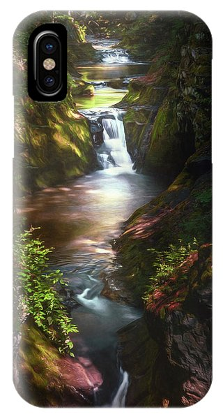 Stream iPhone Case - Pewitts Nest by Scott Norris