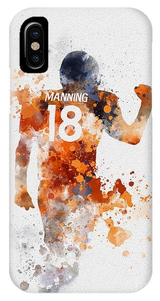 Peyton Manning IPhone Case