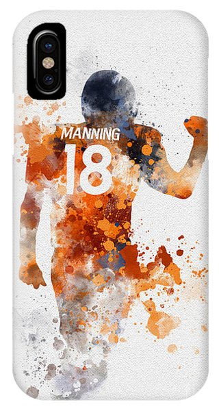 Nfl iPhone Case - Peyton Manning by My Inspiration