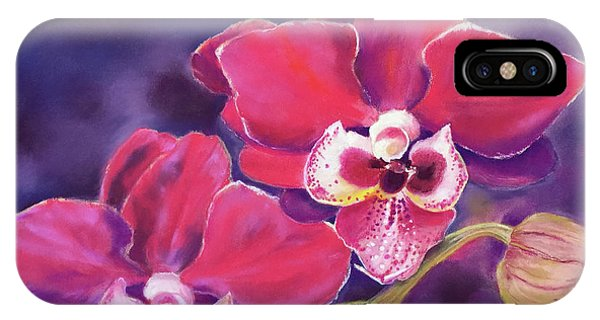 Phalaenopsis Orchid IPhone Case