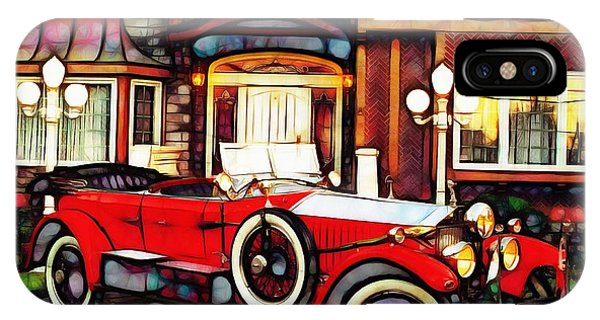 Phantom Rolls Royce 1935 IPhone Case