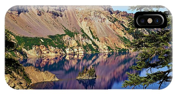 Phantom Ship In Crater Lake IPhone Case