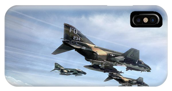 Tribute iPhone Case - Phantom Strike Force by Peter Chilelli