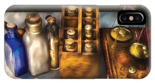 Savad iPhone Case - Pharmacist - Field Medicine by Mike Savad