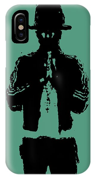 Mtv iPhone Case - Pharrell Williams 2 by Brian Reaves