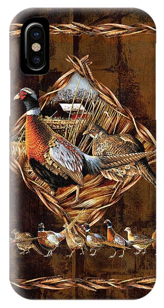 Upland iPhone Case - Pheasant Lodge by JQ Licensing