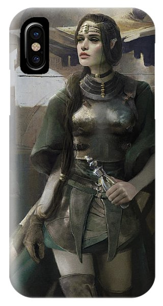 Elf iPhone X Case - Phial by Eve Ventrue