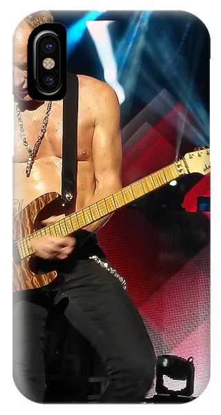 Phil Collen Of Def Leppard 2 IPhone Case