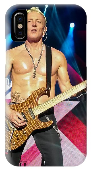 Phil Collen Of Def Leppard 5 IPhone Case